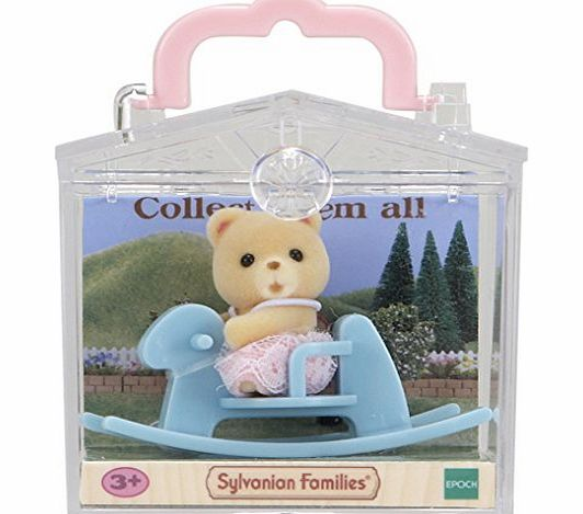 Figures - Sylvanian Families - Bear on Rocking Horse - 051993 - Epoch. . <br /> Sylvanian Families is a unique and adorable range of distinctive animal characters wi (Barcode EAN = 5054131051993). - CLICK FOR MORE INFORMATION