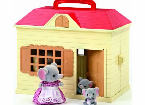 Take your Sylvanian Families out and about with the Carry Cottage. With plenty of space for a family, furniture and accessories, the Carry Cottage is the perfect portable (Barcode EAN = 5038701044288). - CLICK FOR MORE INFORMATION