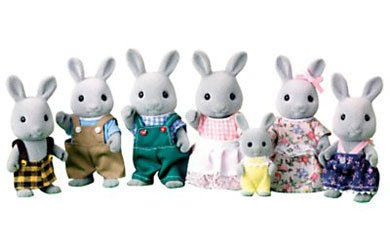 Sylvanian Families Celebration Babblebrook Rabbit Family product image