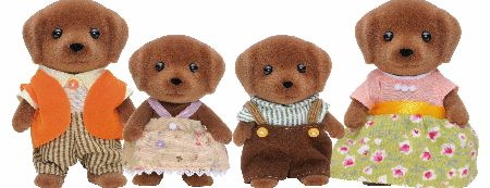 The Hunter-Smthys are the farmers in Sylvanian and live at Highfields Farm. The Sylvanian Families Chocolate Labrador Family Set includes Father Charles and Mother Camilla, Brother Hector and Sister Isabella. � - CLICK FOR MORE INFORMATION