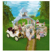 This complete wedding set is an all-in-one, ready to play set featuring a Chapel, Bride, Groom, 2 Bridesmaids, Car and wedding reception set. Also includes altar, organ, bouquets and confetti for the wedding day. - CLICK FOR MORE INFORMATION
