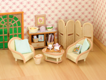 Sylvanian Families Conservatory Living Room Set
