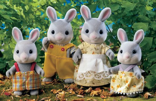 Sylvanian Families Cottontail Rabbit Family product image