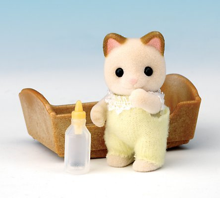 Sylvanian Families Cream Cat Baby product image