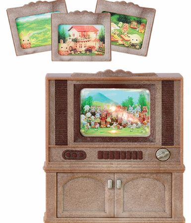 Sylvanian Families Deluxe TV Set product image