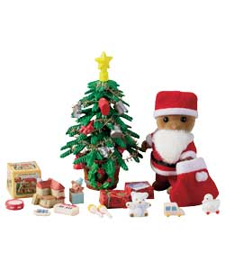 Father Christmas and Tree Set