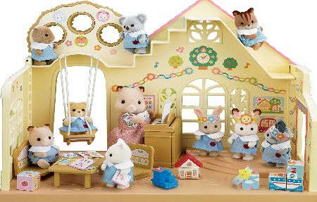 Nursery with big tree and pink delta roof. Includes over 30 pieces.<br>Figures not included.<br><br>Suitable for ages 4 years +<br><br><f (Barcode EAN = 5054131051009). - CLICK FOR MORE INFORMATION