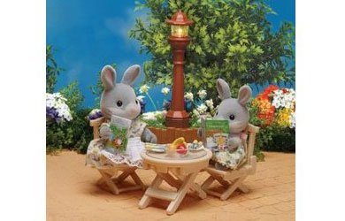Sylvanian Families Garden Patio Set