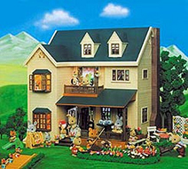 Sylvanian Families - House on the Hill Childrens Gift ...