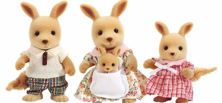 The Sylvanian Families Kangaroo Family Set includes the Springers. Father Bruce, Mother Shelia, Sister Joanne and baby brother Joey are all the sports stars of Sylvania. - CLICK FOR MORE INFORMATION