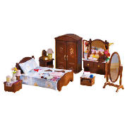Sylvanian families luxury master bedroom furniture doll review compare prices buy online Tesco home bedroom furniture