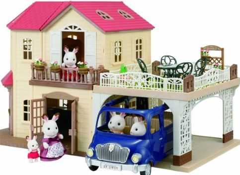 Maple Manor with Carport Playset