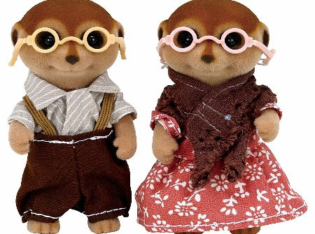 The latest additions to the Sylvanian Families Meerkat Family are the grandparents Clarice and Cliff Spotter. - CLICK FOR MORE INFORMATION