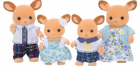 The Sylvanian Families Red Deer Family Set includes Father Rupert, Mother Agatha, with children Freddie and Maria Buckly.�They are a very academic and fit family. - CLICK FOR MORE INFORMATION