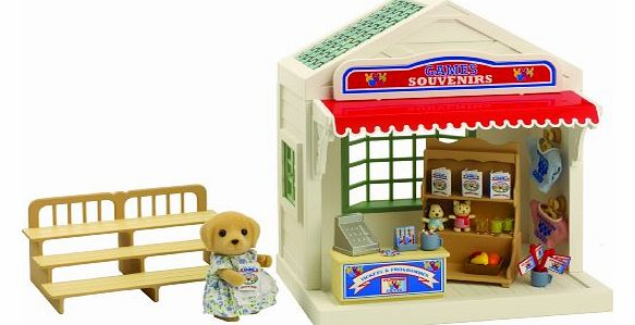 Zoe Barker`s Souvenir Shop has everything the Sylvanian Families need to kit themselves out for the games Make sure your Sylvanians have bought tickets for the events the (Barcode EAN = 5038701043977). - CLICK FOR MORE INFORMATION