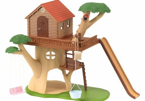 Children`s treehouse with full of fun. Includes a large swing hanging from a branch and an exciting long slide.<br>Figures not included.<br><br>Suitable (Barcode EAN = 5054131046180). - CLICK FOR MORE INFORMATION