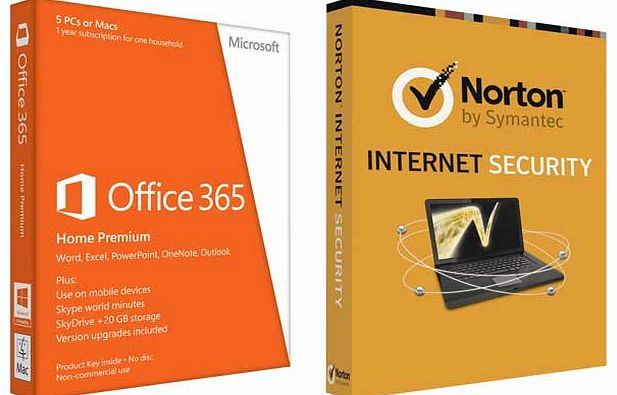 Microsoft Office 365 - 5 User and Norton - CLICK FOR MORE INFORMATION