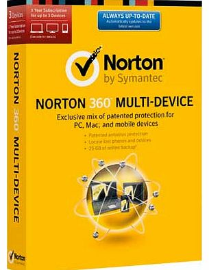 Norton 360 Multi-Device - 3 User - CLICK FOR MORE INFORMATION