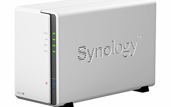 Synology DiskStation DS215j 2 Bay Desktop Network Attached Storage product image