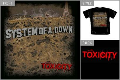 [News] Nouveau T-shirt, nouveau Sweat - Page 3 System-of-a-down-toxicity-t-shirt