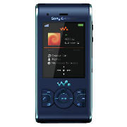 Sony Ericsson W595 Mobile Phone Blue