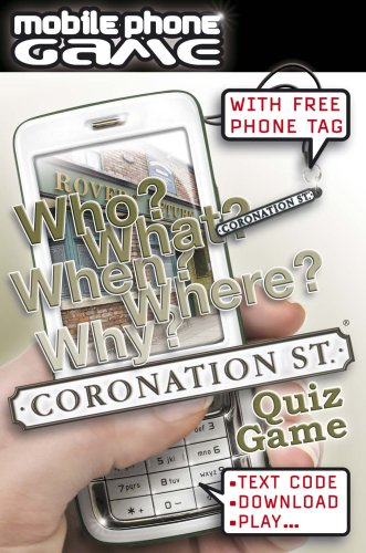 Tactic Games UK Coronation Street Mobile Phone Game product image