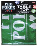 Tactic Games UK Pro Poker Table Top Green Felt Playing Surface product image
