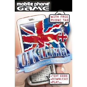 Tactic Games UK UK Trivia Mobile Phone Game product image