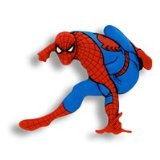 TagEm UK TagEms - Marvel - Spiderman For Shoelaces