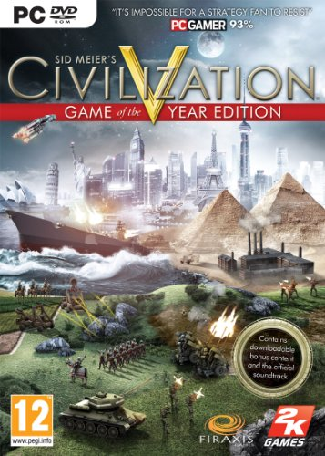 Take 2 Civilization V - Game Of The Year Edition (PC DVD)