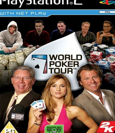 TAKE 2 World Poker Tour PS2 product image