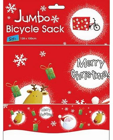 Christmas Bike Sack