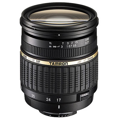 Di II: Lenses are designed for exclusive use on digital cameras with smaller-size imagers and inherit all of the benefits of our Di products. The new SP AF17-50mm F/2.8 XR Di II LD Aspherical [IF] is a lightweight, compact, fast standard zoom lens de - CLICK FOR MORE INFORMATION