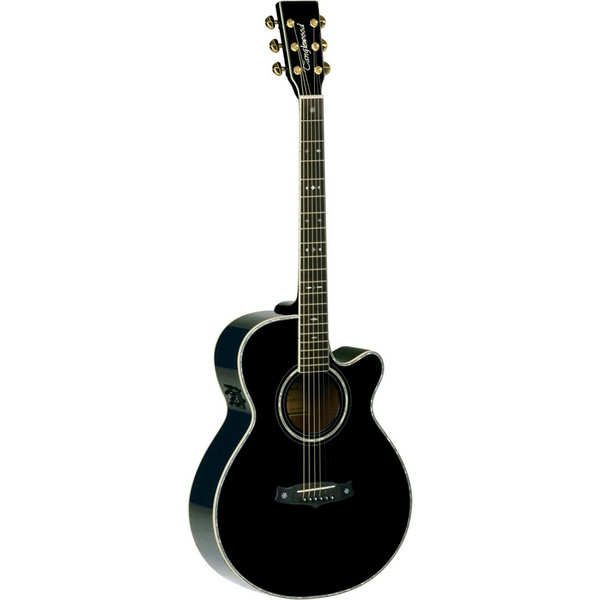 tanglewood tw49 bk dlx b acoustic guitar review compare prices buy online. Black Bedroom Furniture Sets. Home Design Ideas