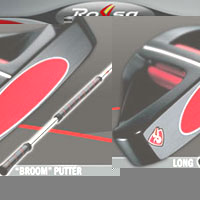 Taylor Made Rossa Monza Long Broom Handle Putter Golf Club