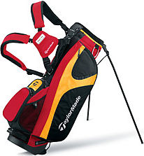Made Taylite 3.5 Stand Bag Red/Black/Yellow