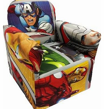 CHILDRENS DISNEY TV CHARACTERS CHAIR SOFA KIDS SEATS (Marvel Avenger)