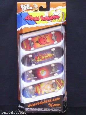 Tech Deck 96mm Board Four Pack