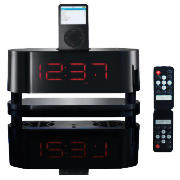 technika CR-109IP iPod Clock Radio - Gloss Black product image