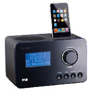 radio alarm clock with ipod dock. Black Bedroom Furniture Sets. Home Design Ideas