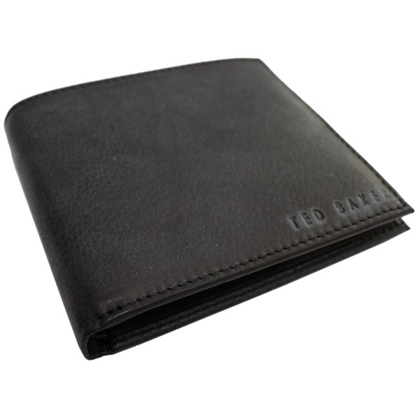 Ted Baker Black Anville Leather Stud Wallet by product image
