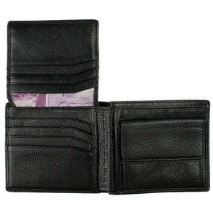 Ted Baker Black Brunwic Leather Coin Wallet by product image