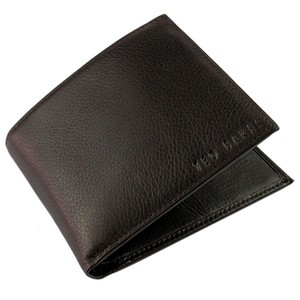 Ted Baker Brown Anville Leather Stud Wallet by product image