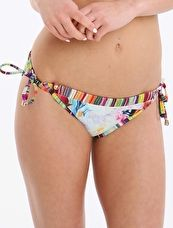 Ted Baker, 1295[^]270998 Floral Swirl Tie Side Pant - Multi