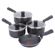 Tefal essencia 5 piece stainless steel pan set instructions