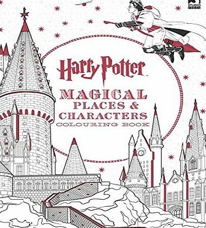 Templar Publishing Harry Potter Magical Places and Characters Colouring Book 3