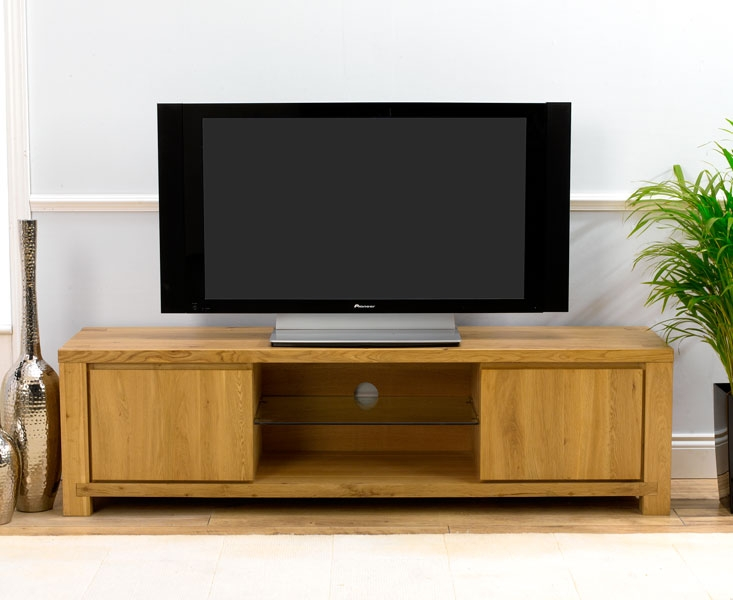 tempo Solid Oak TV Unit - 180cm product image