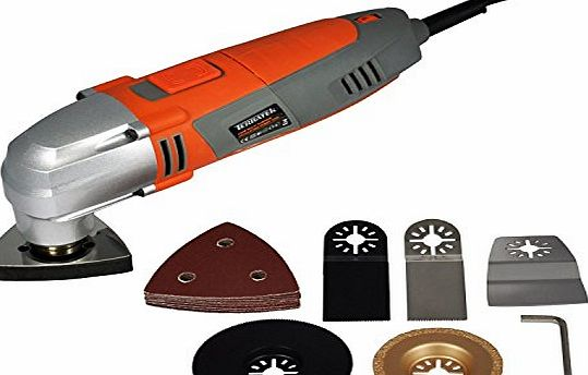 Terratek Oscillating Multi-Speed Multi-Tool with 13 Piece Accessory Kit product image