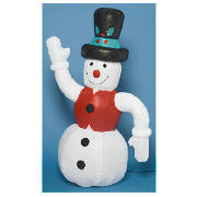 Tesco 6ft Inflatable Snowman product image
