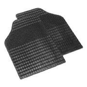 Car Mats 2 Set Rubber Front